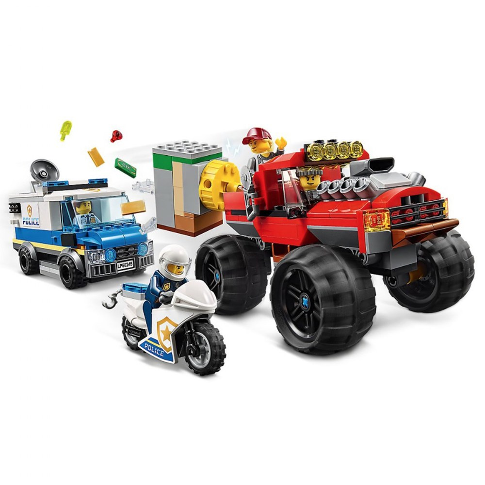 Alternate Image #2 of LEGO® City Police Monster Truck Heist - 60245