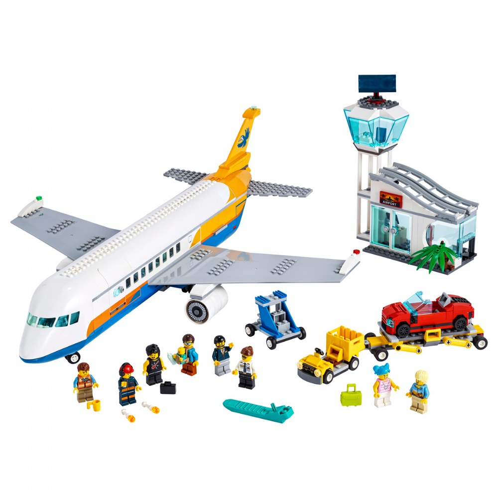Alternate Image #1 of LEGO® City Airport Passenger Airplane - 60262