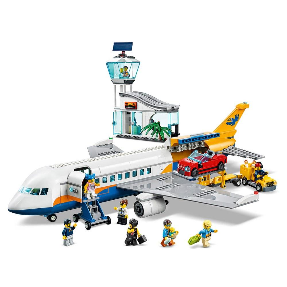 Alternate Image #2 of LEGO® City Airport Passenger Airplane - 60262