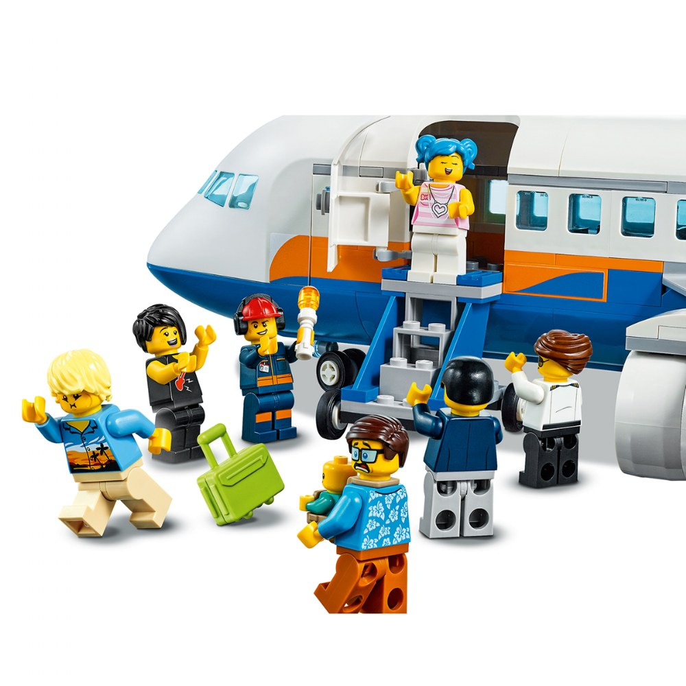 Alternate Image #5 of LEGO® City Airport Passenger Airplane - 60262