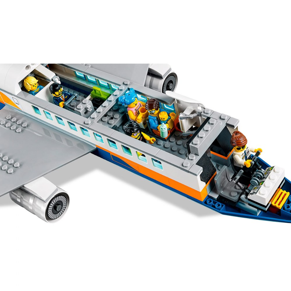 Alternate Image #6 of LEGO® City Airport Passenger Airplane - 60262