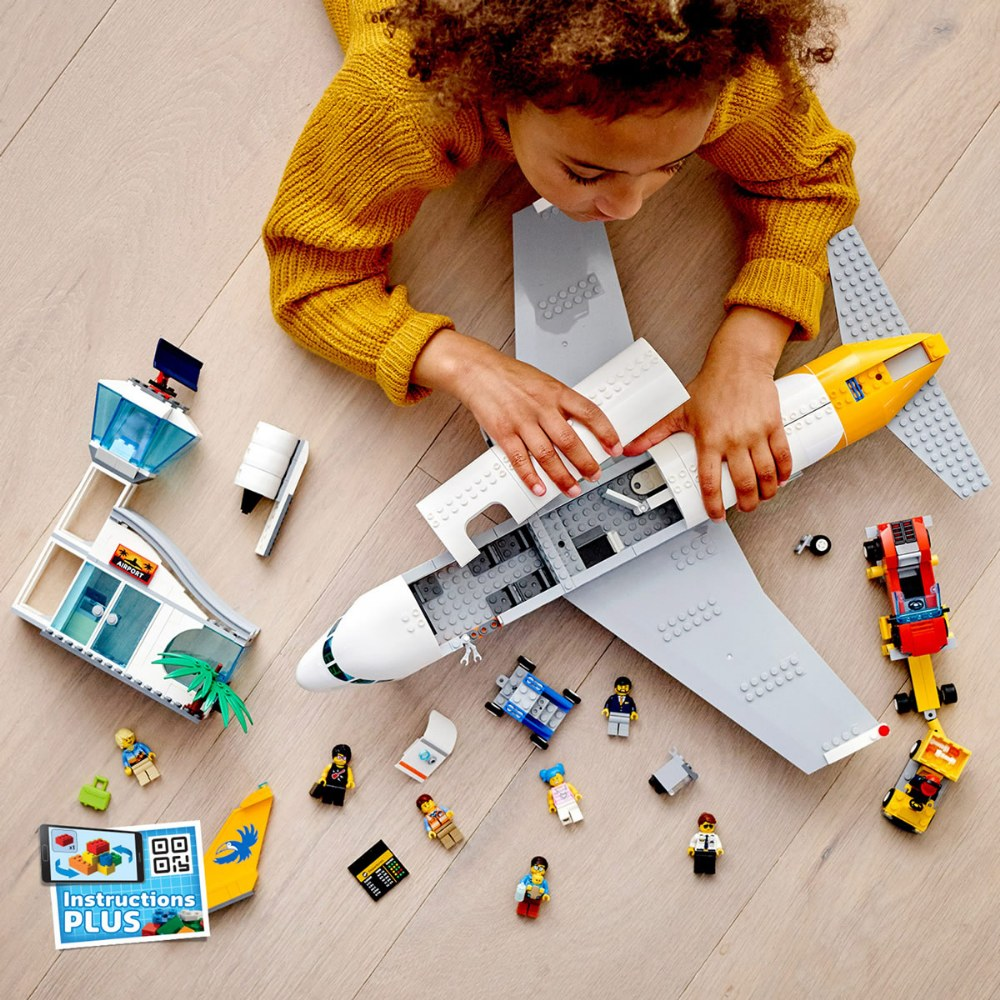 Alternate Image #7 of LEGO® City Airport Passenger Airplane - 60262