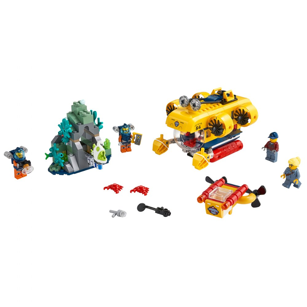 Alternate Image #1 of LEGO® City Ocean Exploration Submarine - 60264