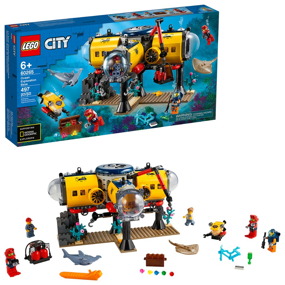 LEGO® City Ocean Exploration Base - 60265
