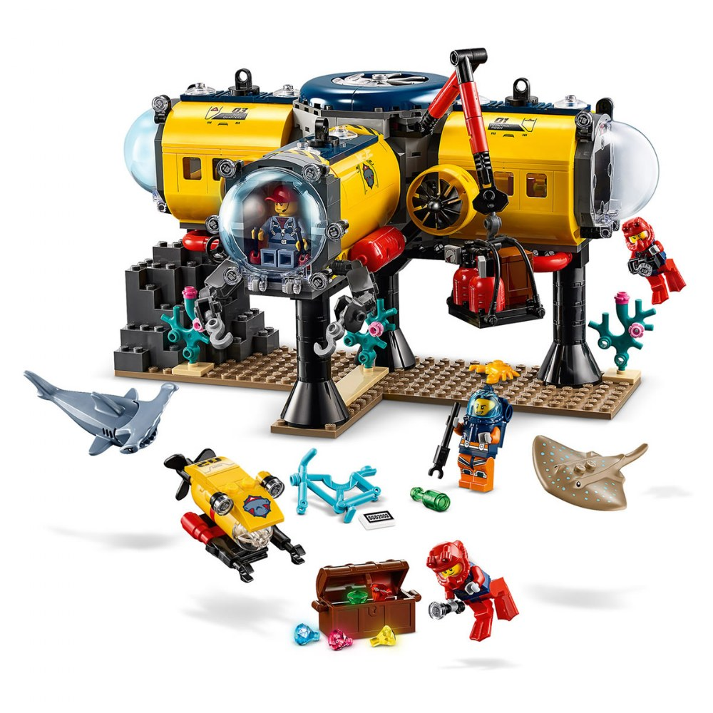 Alternate Image #2 of LEGO® City Ocean Exploration Base - 60265