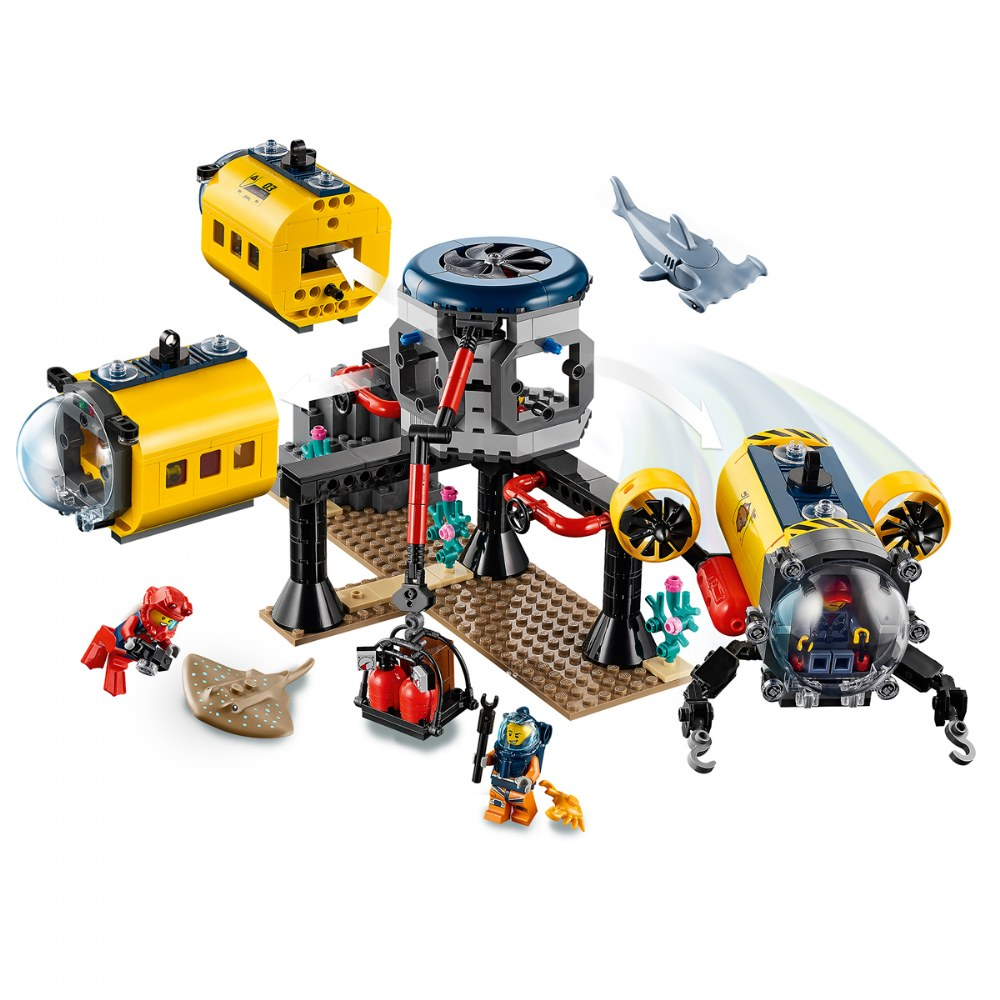 Alternate Image #3 of LEGO® City Ocean Exploration Base - 60265