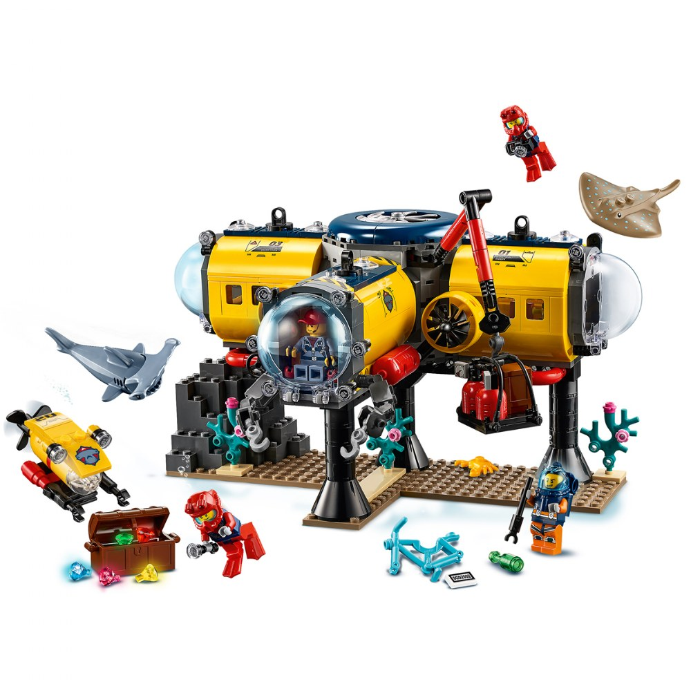 Alternate Image #5 of LEGO® City Ocean Exploration Base - 60265