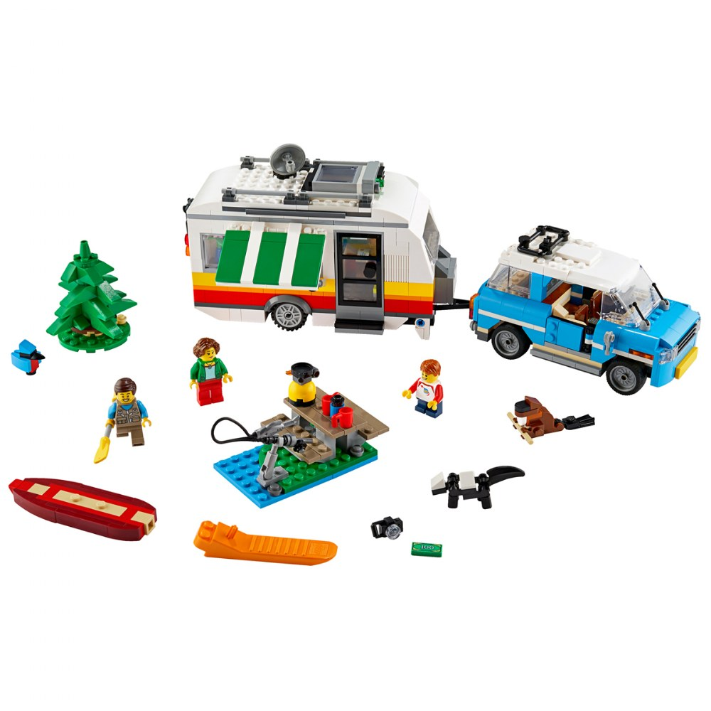 Alternate Image #1 of LEGO® Creator 3 in 1 Caravan Family Holiday - 31108