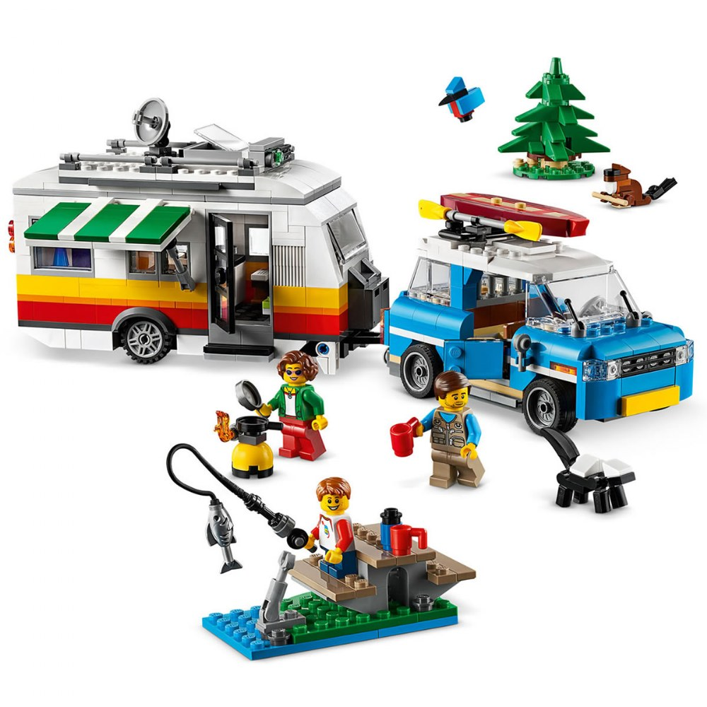 Alternate Image #2 of LEGO® Creator 3 in 1 Caravan Family Holiday - 31108