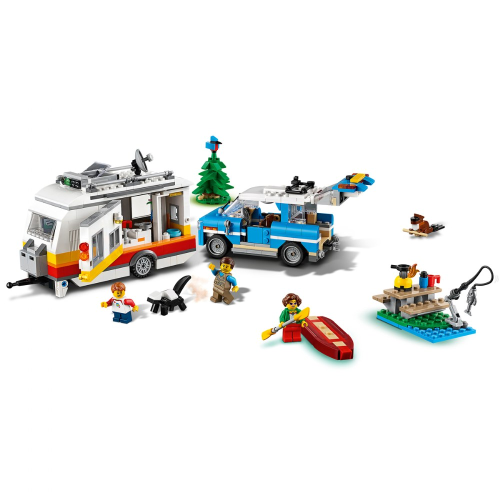 Alternate Image #3 of LEGO® Creator 3 in 1 Caravan Family Holiday - 31108