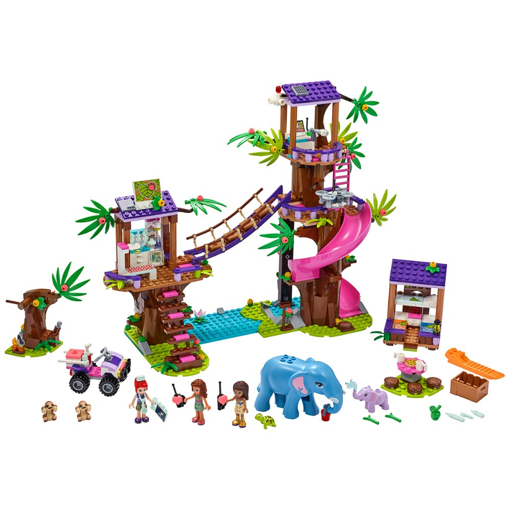 Alternate Image #1 of LEGO® Friends Jungle Rescue Base - 41424