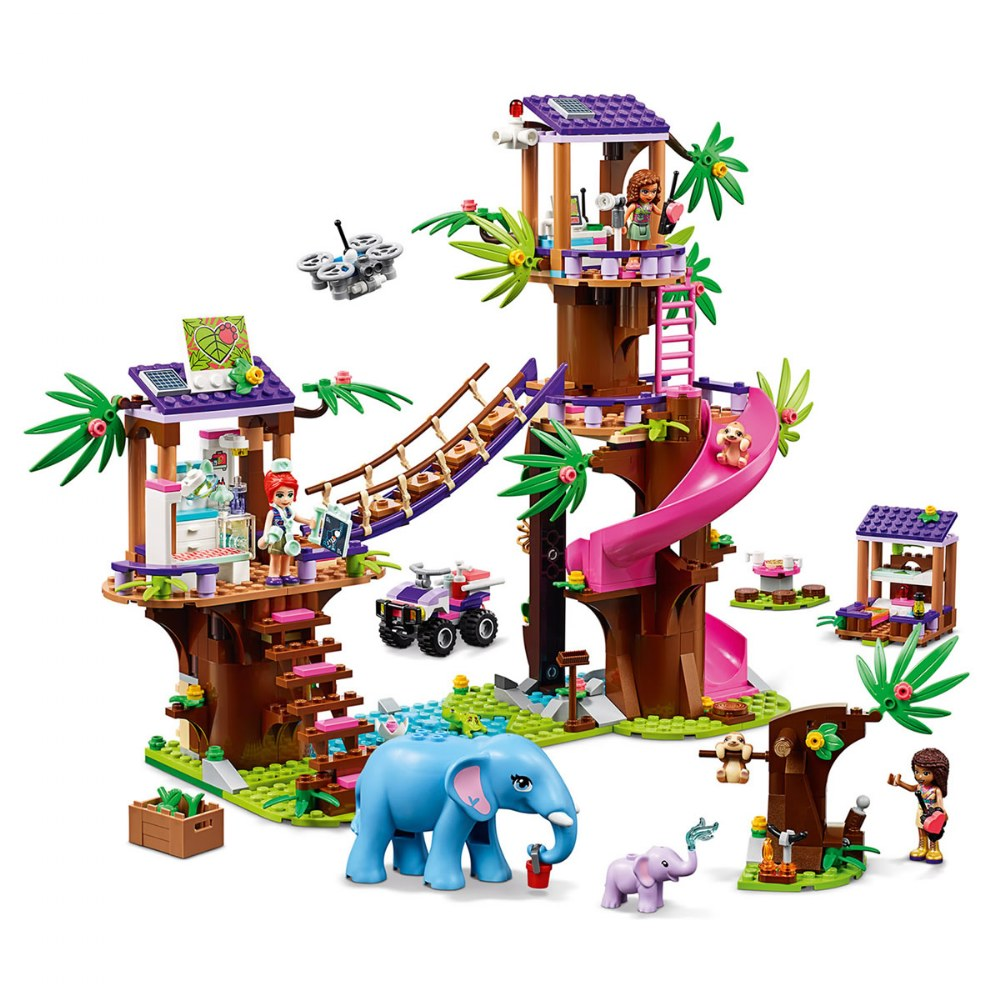 Alternate Image #2 of LEGO® Friends Jungle Rescue Base - 41424