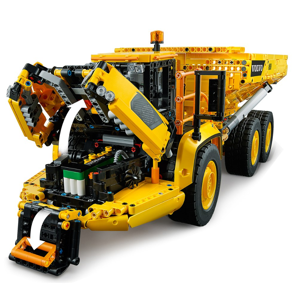 Alternate Image #5 of LEGO® Technic™ 6x6 Volvo Articulated Hauler - 42114 - Control + App
