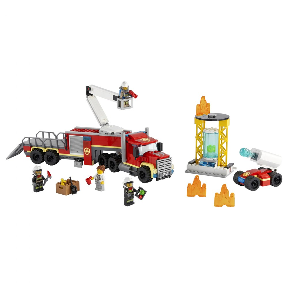 Alternate Image #1 of LEGO® City™ Fire Command Unit - 60282