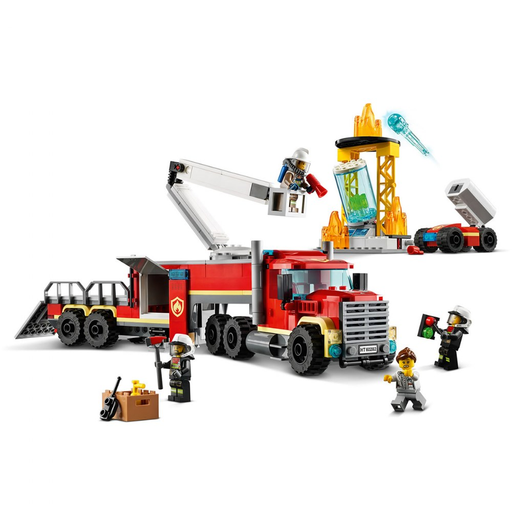 Alternate Image #2 of LEGO® City™ Fire Command Unit - 60282