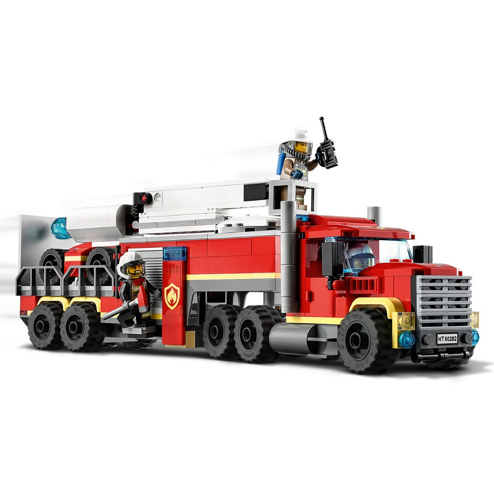 Alternate Image #3 of LEGO® City™ Fire Command Unit - 60282