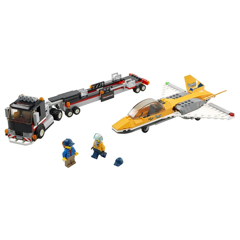 Alternate Image #1 of LEGO® City™  Airshow Jet Transporter - 60289