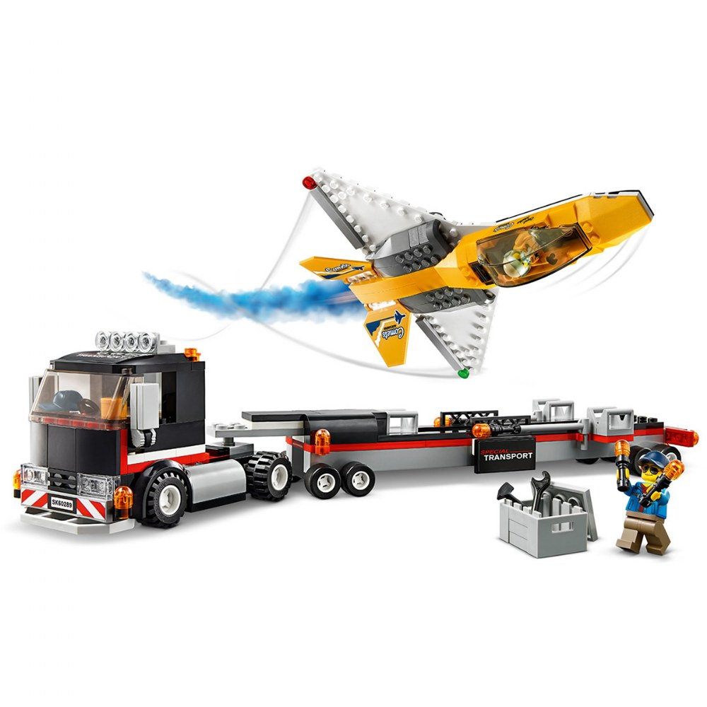 Alternate Image #2 of LEGO® City™  Airshow Jet Transporter - 60289