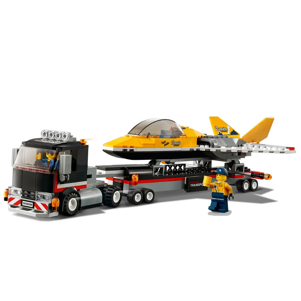 Alternate Image #3 of LEGO® City™  Airshow Jet Transporter - 60289