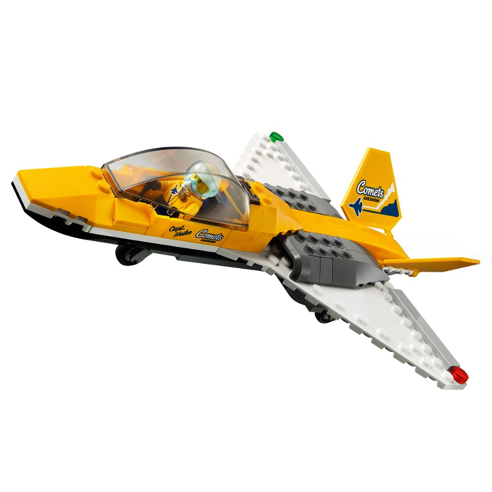 Alternate Image #4 of LEGO® City™  Airshow Jet Transporter - 60289