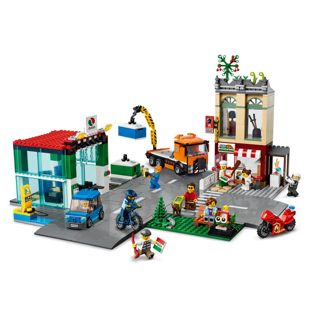Alternate Image #2 of LEGO® City Town Center - 60292