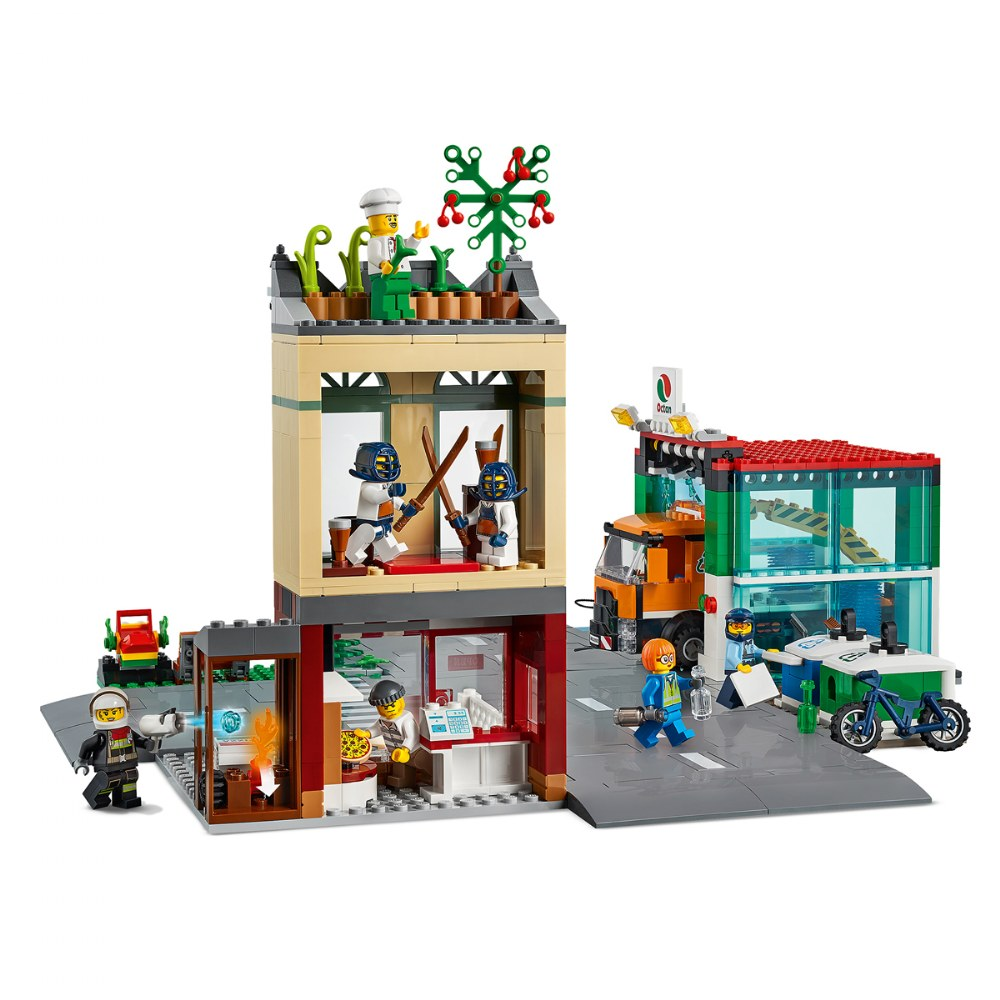 Alternate Image #3 of LEGO® City Town Center - 60292