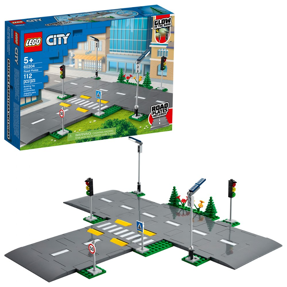 LEGO® City Road Plates - 60304