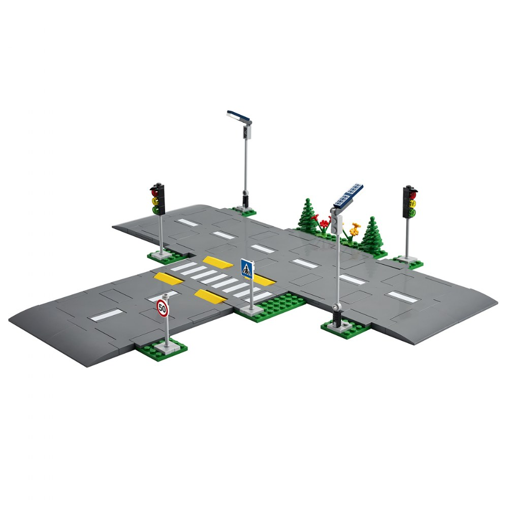 Alternate Image #1 of LEGO® City Road Plates - 60304