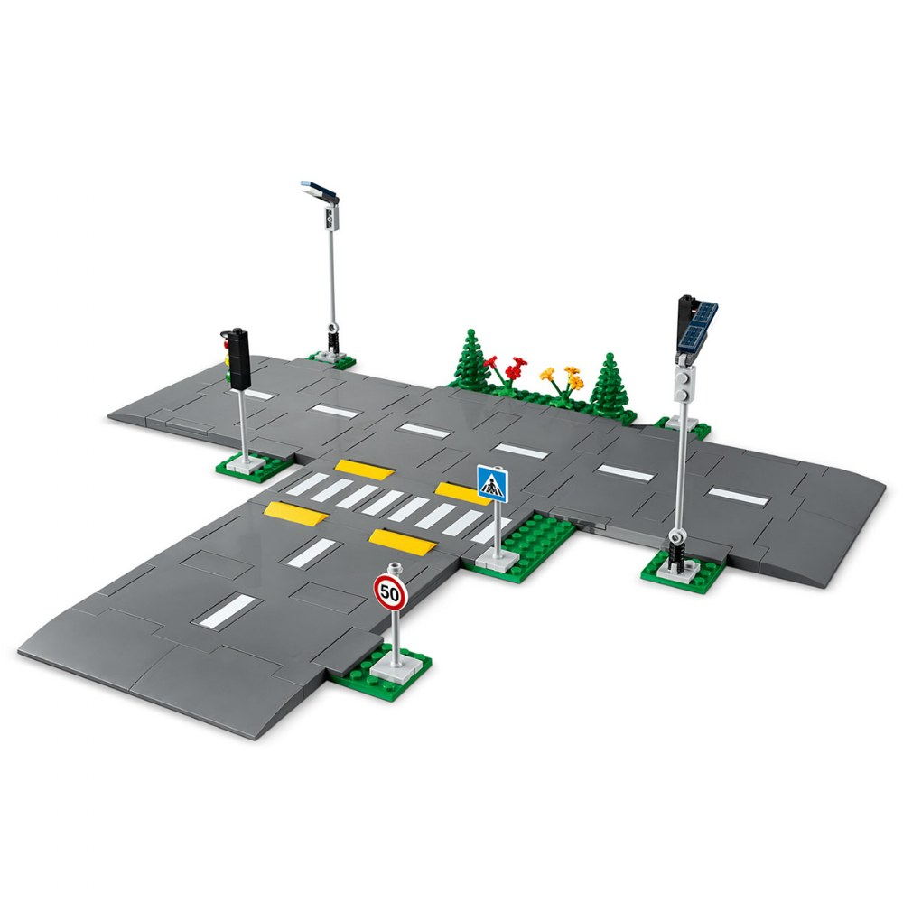 Alternate Image #2 of LEGO® City Road Plates - 60304