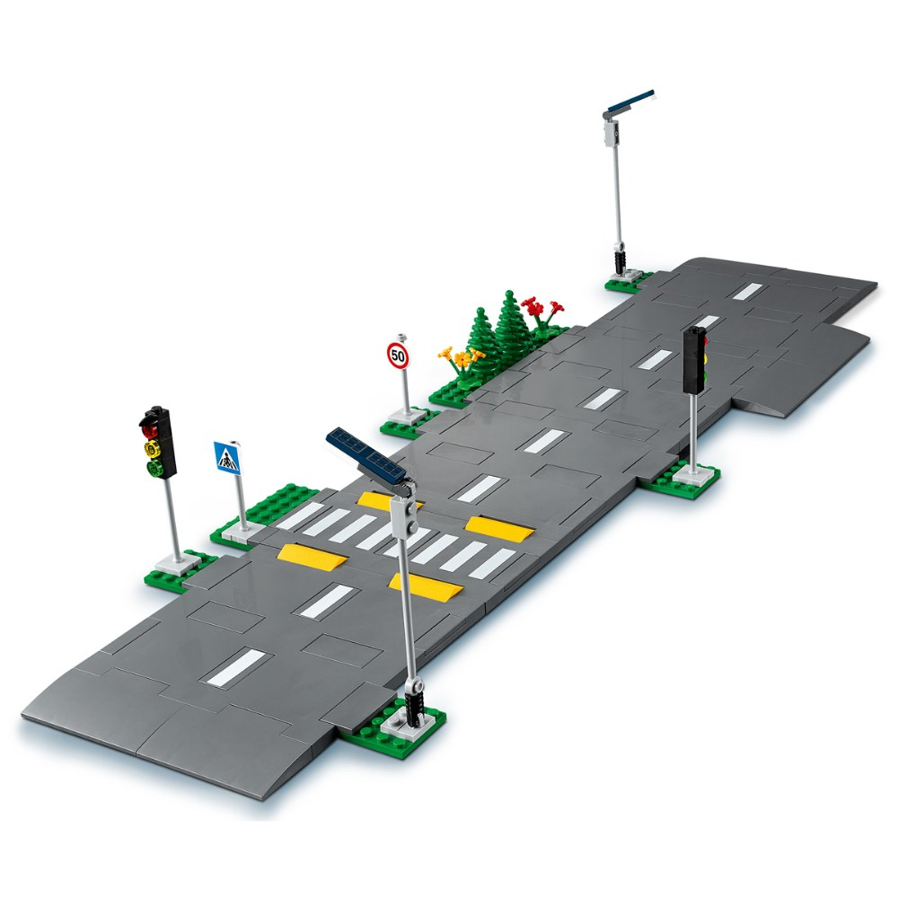 Alternate Image #3 of LEGO® City Road Plates - 60304