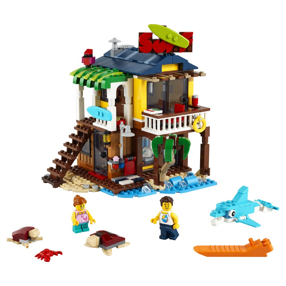 Alternate Image #1 of LEGO® Creator Surfer Beach House - 31118
