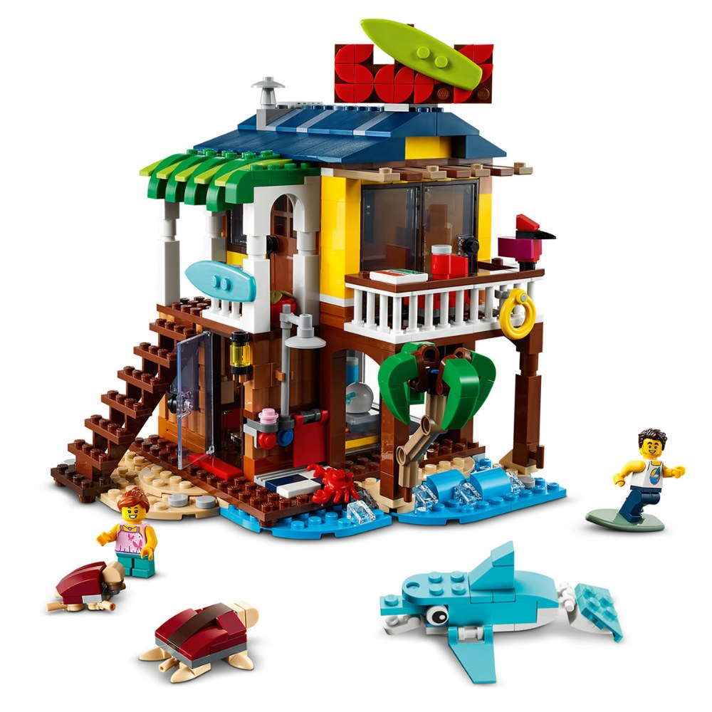 Alternate Image #2 of LEGO® Creator Surfer Beach House - 31118