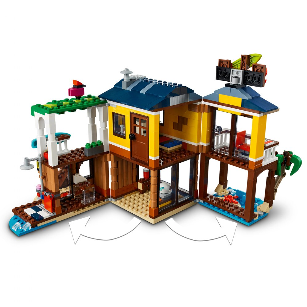 Alternate Image #3 of LEGO® Creator Surfer Beach House - 31118