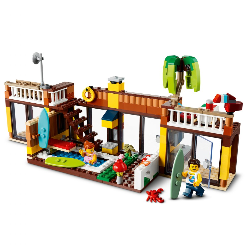 Alternate Image #4 of LEGO® Creator Surfer Beach House - 31118