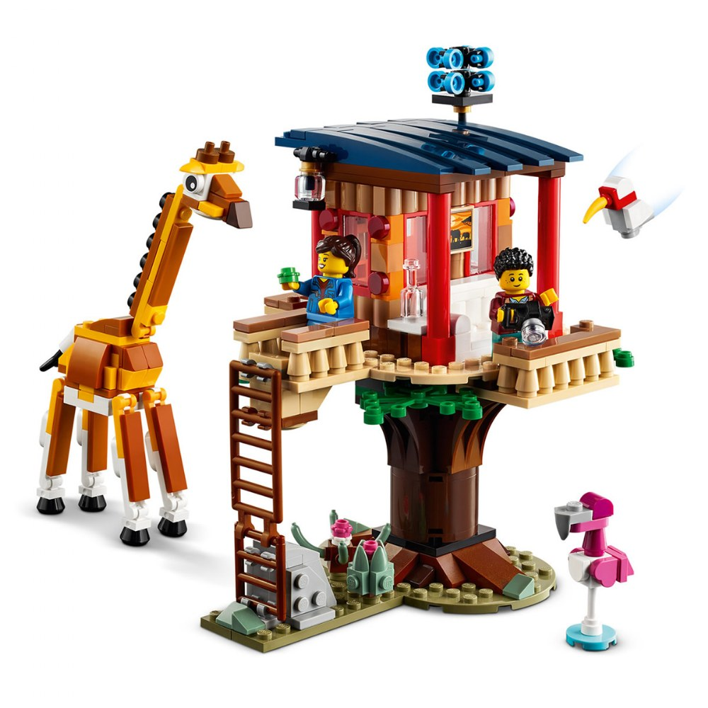 Alternate Image #2 of LEGO® Creator 3in1 Safari Wildlife Tree House - 31116