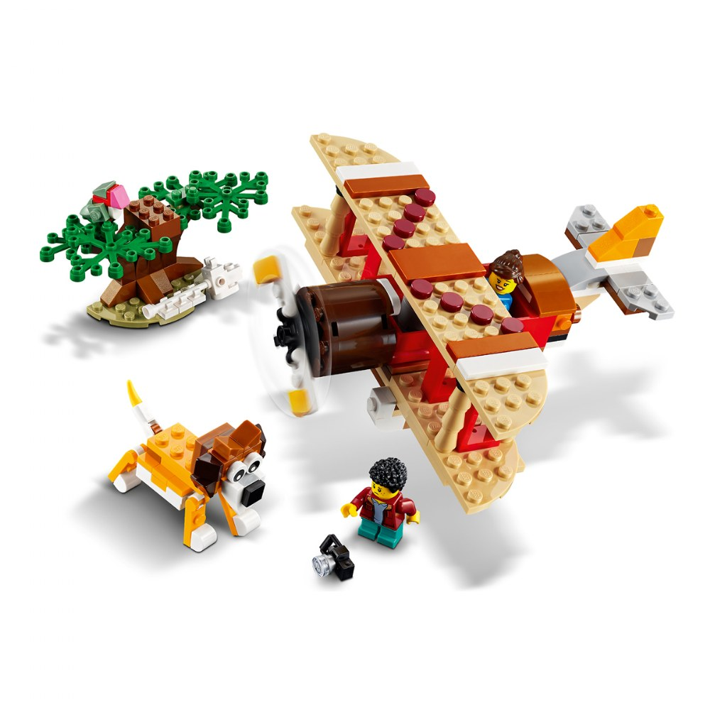Alternate Image #6 of LEGO® Creator 3in1 Safari Wildlife Tree House - 31116