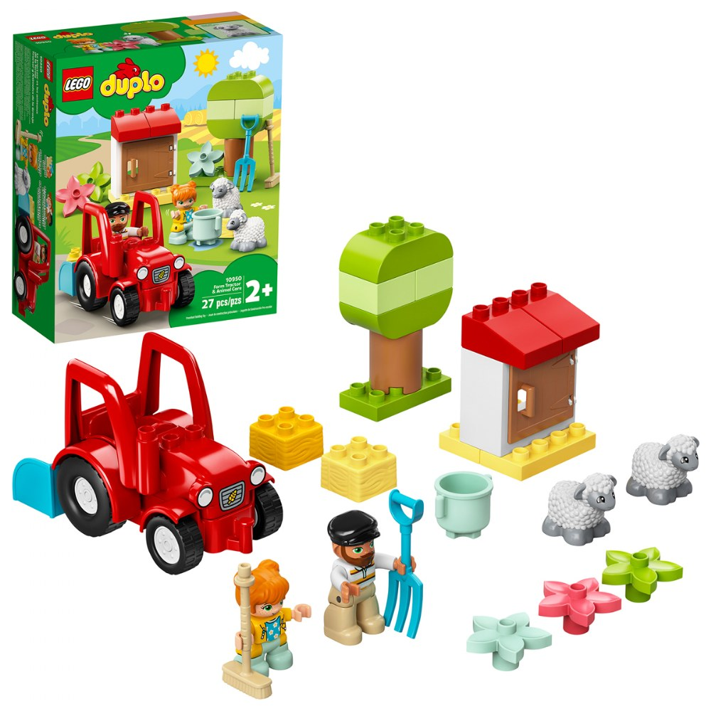 LEGO® DUPLO® Farm Tractor & Animal Care - 10950