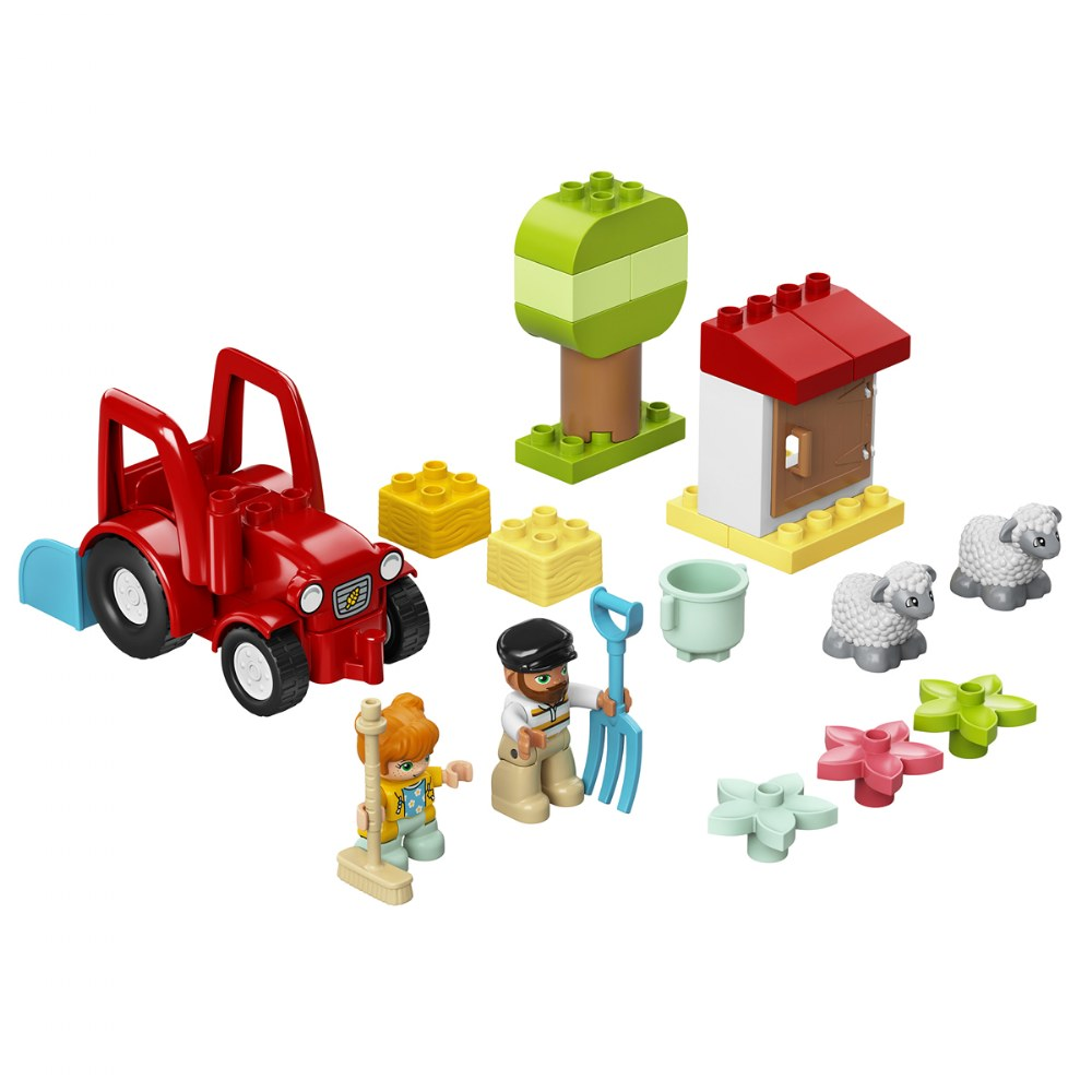 Alternate Image #1 of LEGO® DUPLO® Farm Tractor & Animal Care - 10950