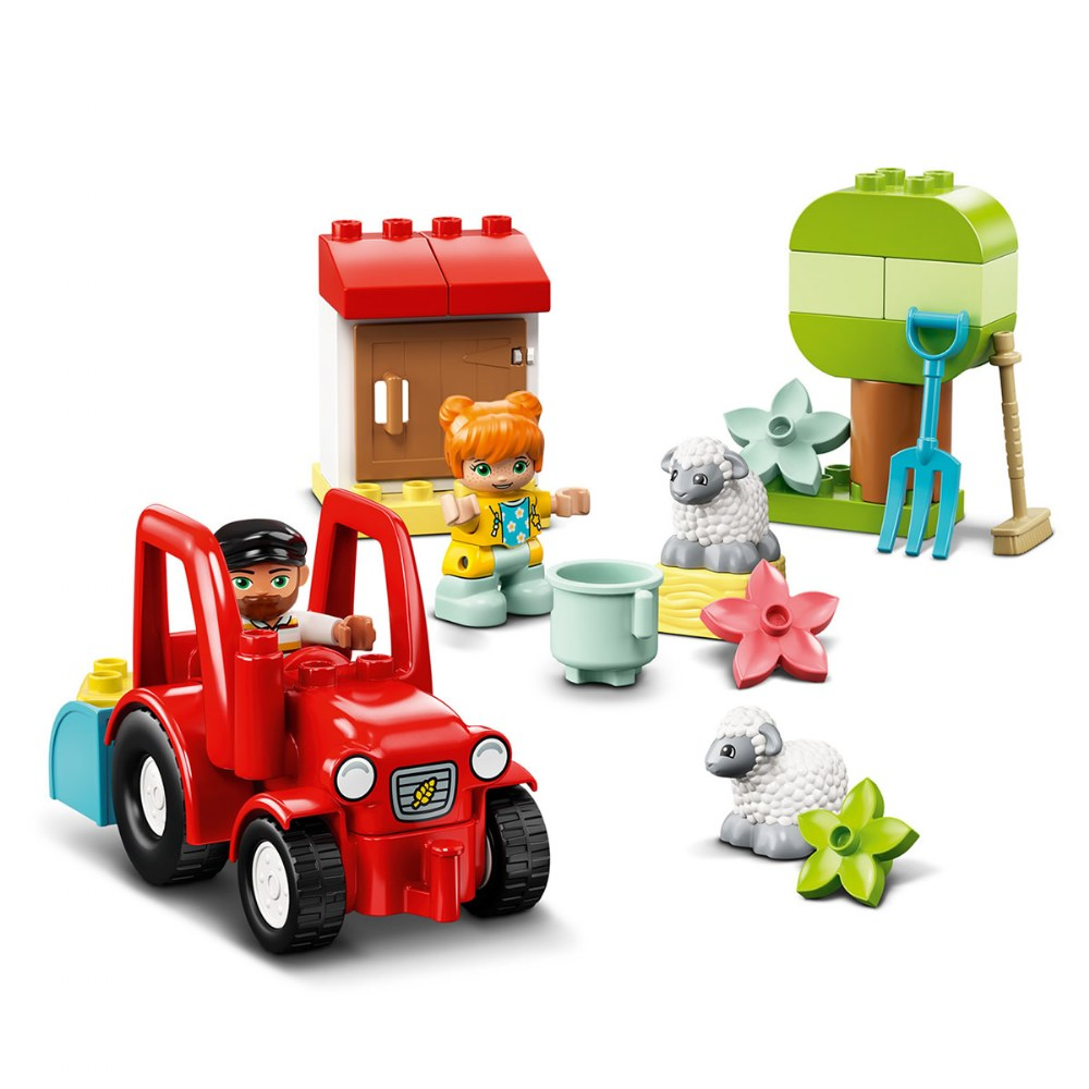 Alternate Image #2 of LEGO® DUPLO® Farm Tractor & Animal Care - 10950