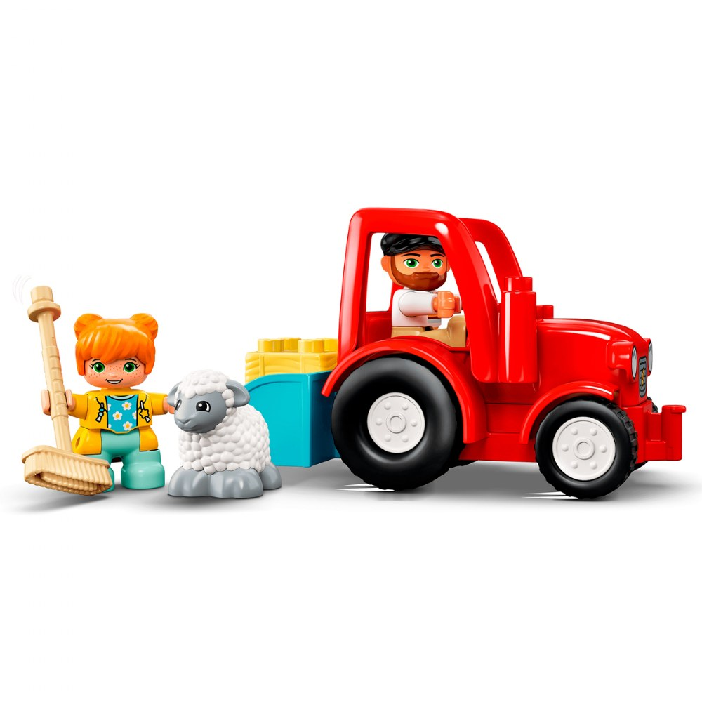 Alternate Image #3 of LEGO® DUPLO® Farm Tractor & Animal Care - 10950