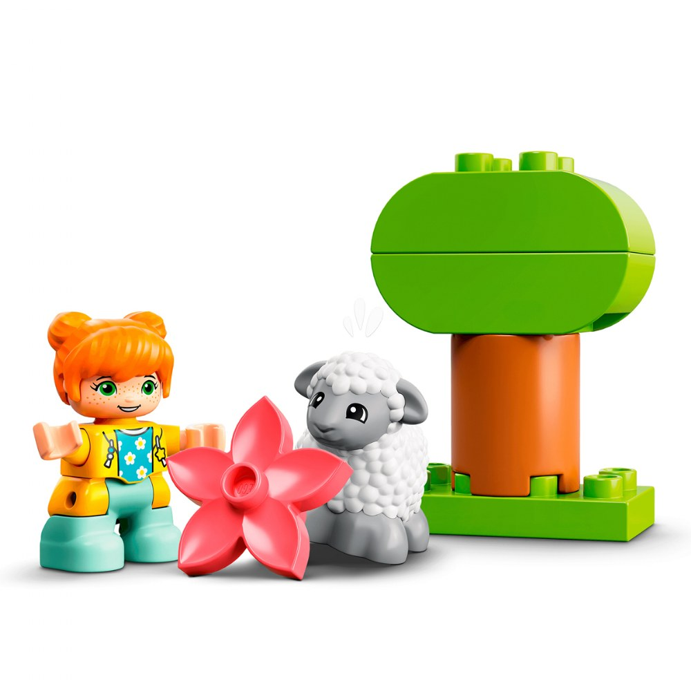 Alternate Image #4 of LEGO® DUPLO® Farm Tractor & Animal Care - 10950