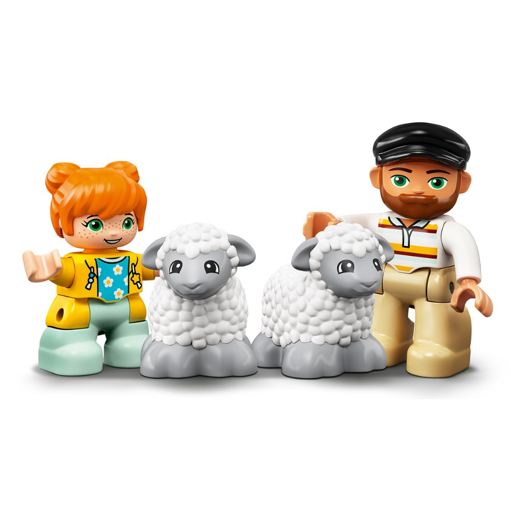 Alternate Image #5 of LEGO® DUPLO® Farm Tractor & Animal Care - 10950