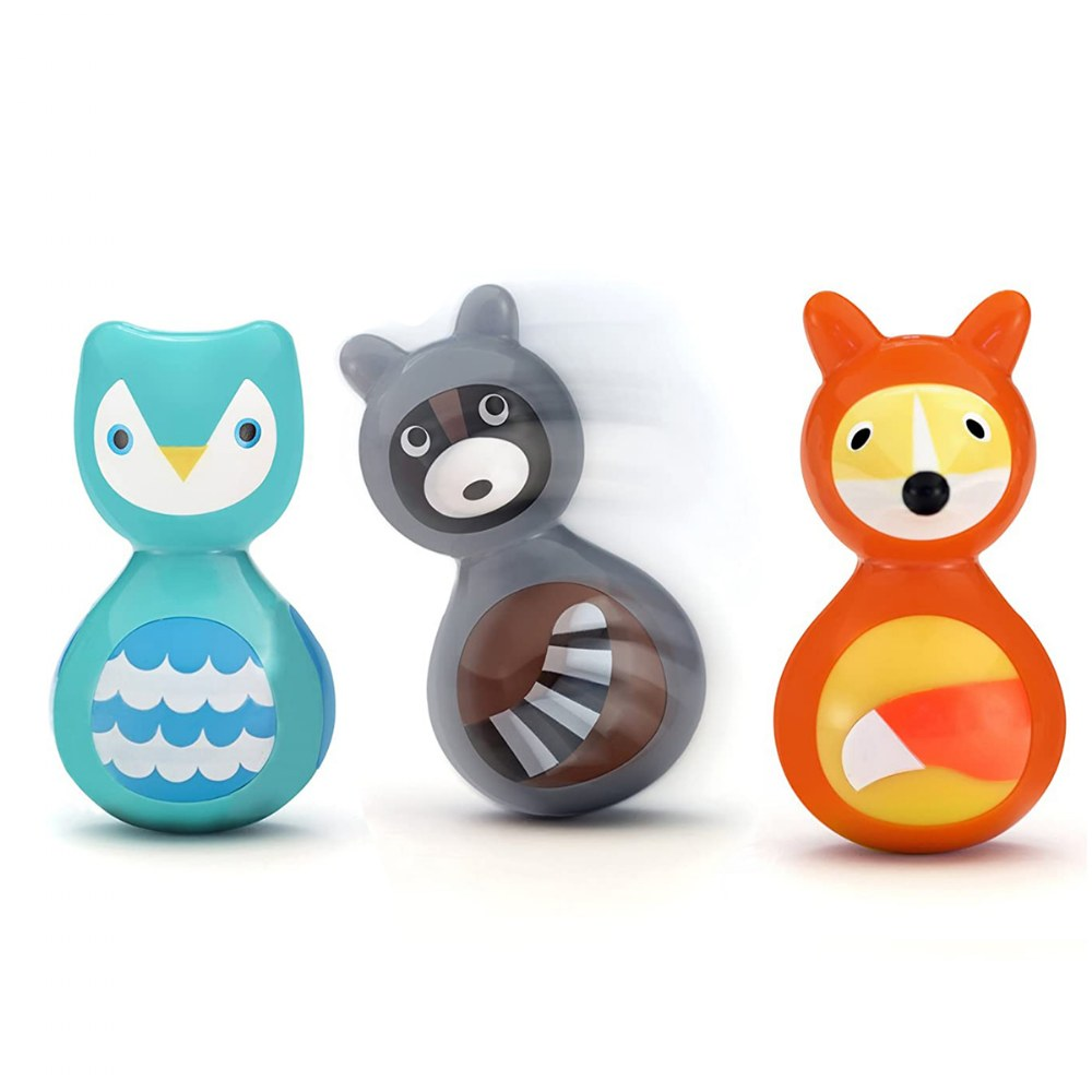 Alternate Image #12 of Woodland Animals Wobble Toys