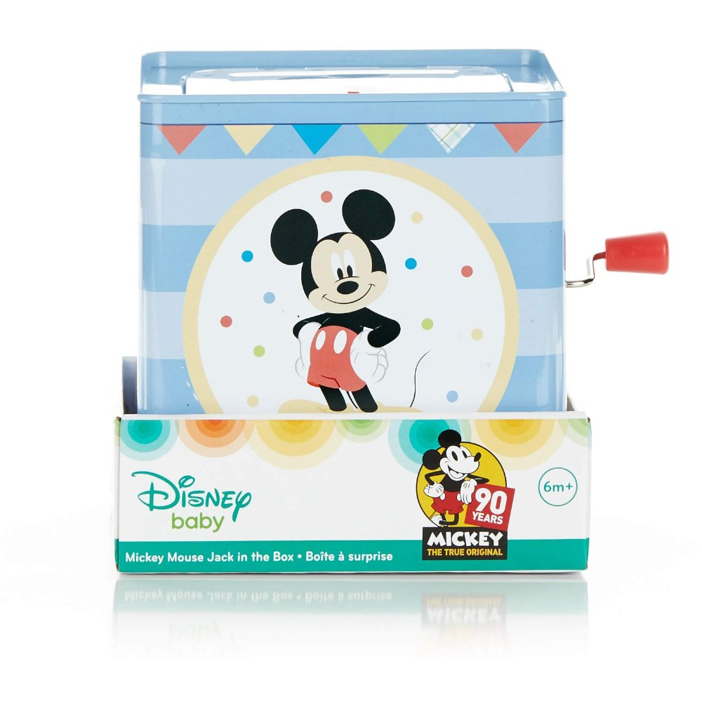 Alternate Image #2 of Mickey Mouse Jack-in-the-Box