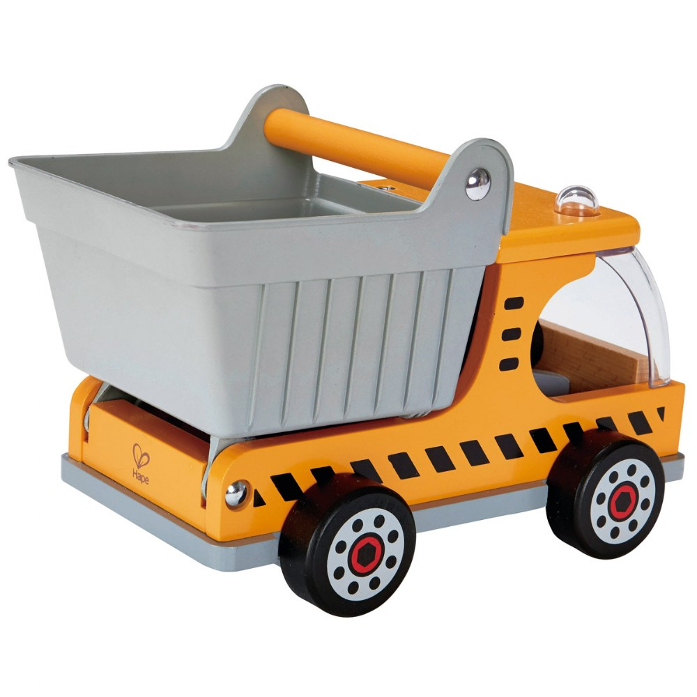 Alternate Image #1 of Playscapes Wooden Construction Toy Dump Truck
