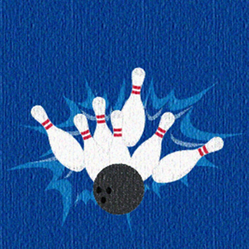 Alternate Image #2 of Strikes N' Spares© Bowling Skills Carpet (20')