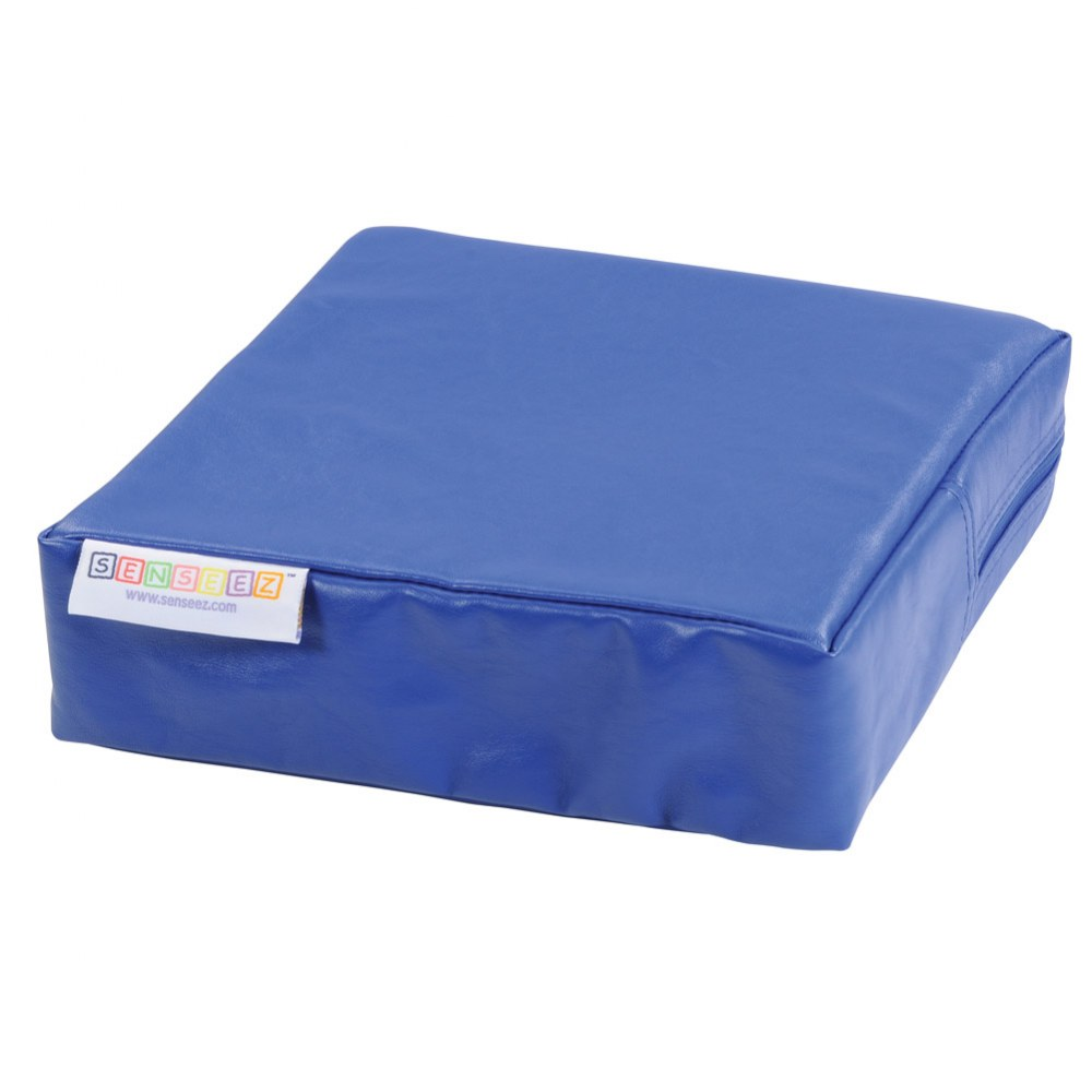 Senseez® Blue Square Vibrating Cushion