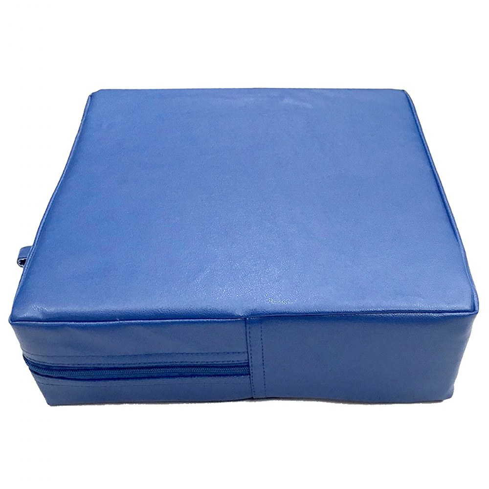 Alternate Image #2 of Senseez® Blue Square Vibrating Cushion