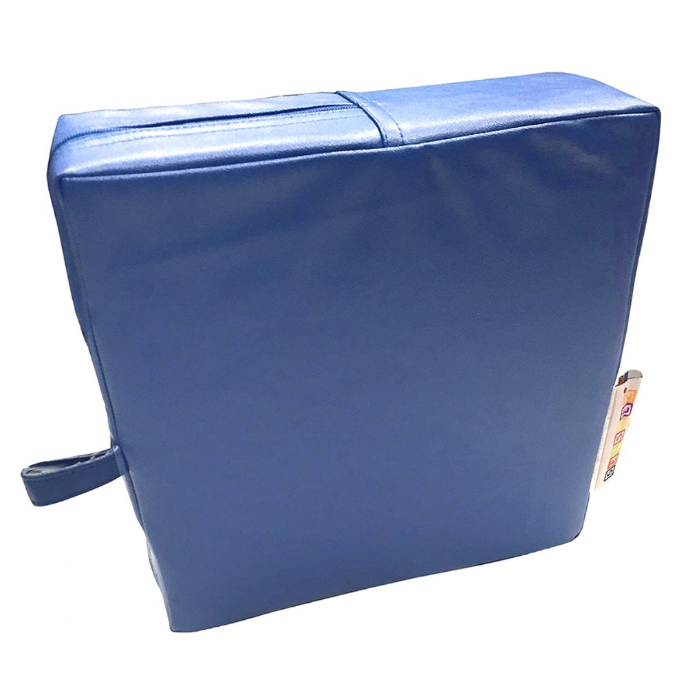 Alternate Image #3 of Senseez® Blue Square Vibrating Cushion