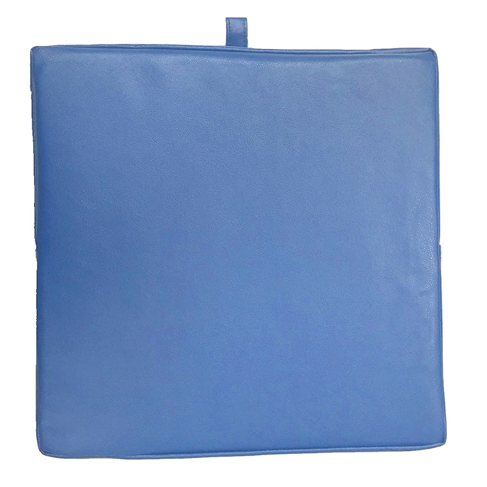 Alternate Image #4 of Senseez® Blue Square Vibrating Cushion